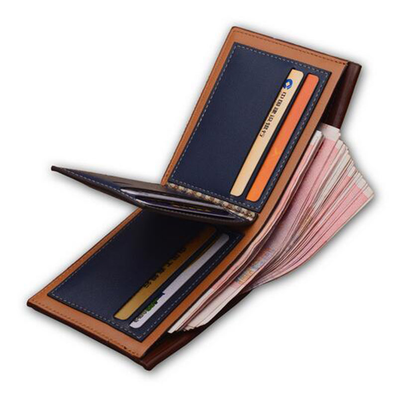 Men Wallets male Vintage Purses Money Bag Credit Card Holders Business Money Bag short wallet Carteiras Masculinas Small Walet baellerry brand pu leather wallets men purses slim new designer solid vintage small wallets male money bags credit card holders