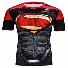 Newest Marvel Superhero Gym Clothing Superman T-Shirt Men Women Cartoon 3D T Shirt Funny T Shirts Compression Shirt