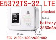 4g wifi router Unlocked Huawei E5372Ts-32 mifi 4G 3560mah wifi dongle 4g wireless router 4g cpe pocket PK E5776 E589 E5372