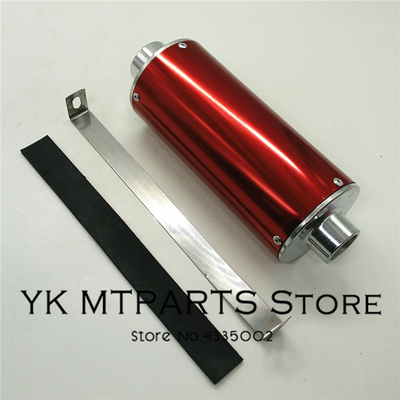 Pit Bike 28mm Dirt Bike Exhaust Decorate Pipe For 50cc 110cc 125cc 140cc motorcycle