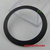 Brushed 39 7mm Black Ceramic Bezel Insert For 44mm Sea Watch B9