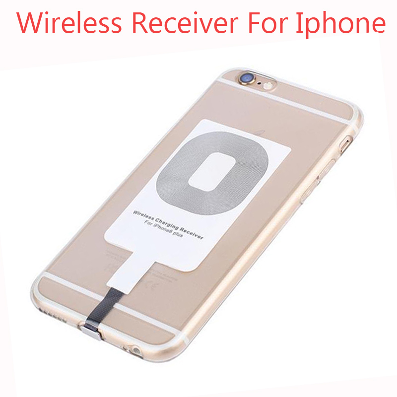 Fast Speed Charging Qi Standard Wireless Charger Adapter Receptor Pad Receiver Chip For iPhone 6 Plus cell phone battery