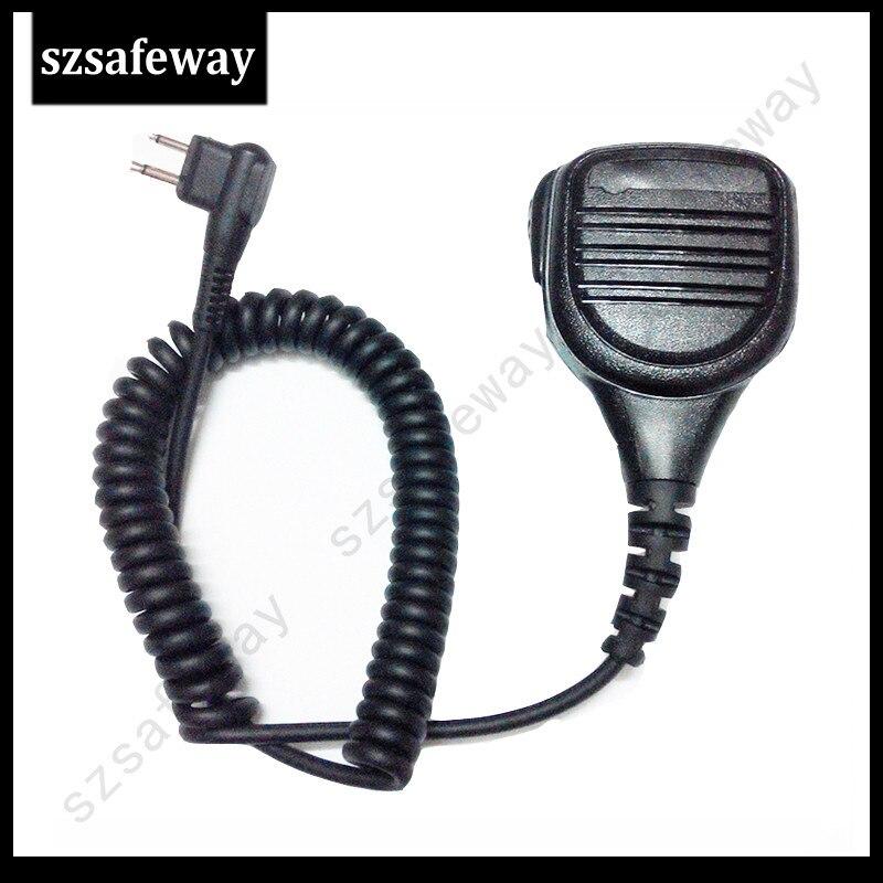 Remote High Quality Waterproof IP54 Speaker Mic For Two Way Radio Motorola CP150, CP200, CT250,CP040,GP300 GP88 Free Shipping