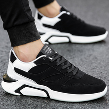 Wedge sneakers spring/autumn fashion shallow men vulcanize shoes comfortable hard-wearing non-slip male shoes 2018