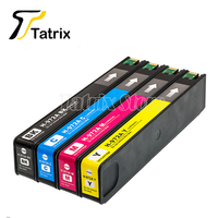 Tatrix 4 Color For HP972A For HP972 972 972A Ink Cartridge For Pagewide 352dw 377dw 452dn dw 477dn dw 552dw 577dw 55250dw P57750
