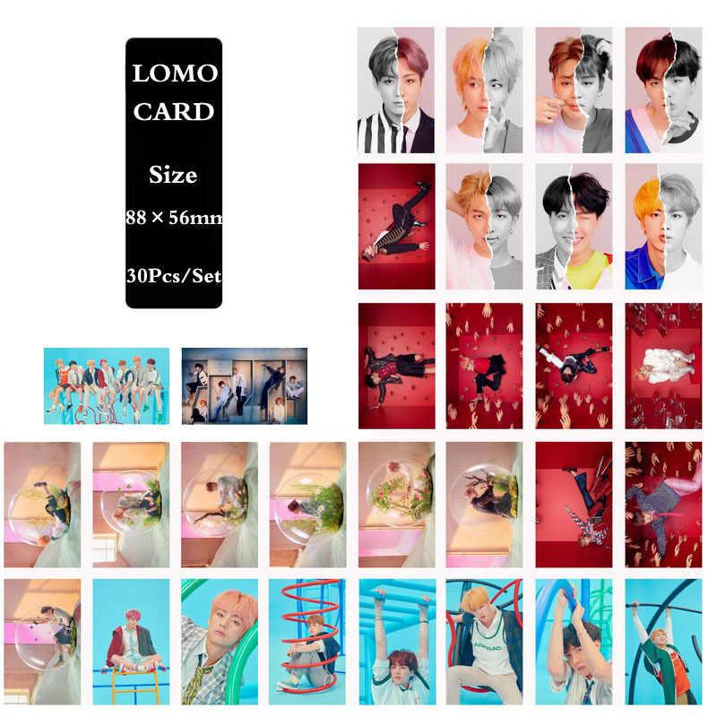 KPOP Bangtan мальчики альбом любовь себя ответ бумага Lomo карты фото плакат в виде карты HD фотостудии игрушек, для подарка, для фанатов 30 шт