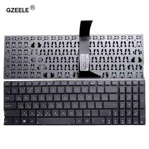 Image 1 - GZEELE clavier dordinateur portable russe pour Asus X550C A550C A550C A550VB Y581C X550 X552MJ X552E X552EA X552EP X552LA X552M F520M