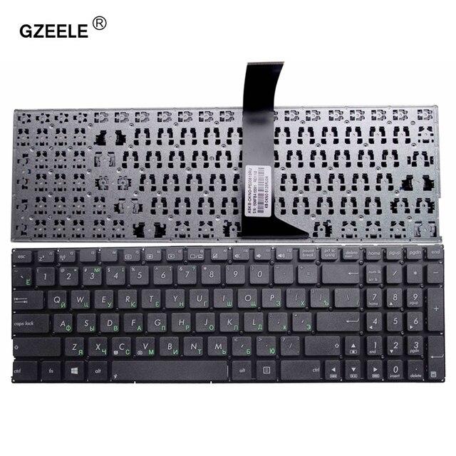 GZEELE clavier dordinateur portable russe pour Asus X550C A550C A550C A550VB Y581C X550 X552MJ X552E X552EA X552EP X552LA X552M F520M