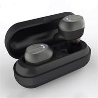 Deep Bass Cordlesss Earphones Hands Free Bluetooth Earpiece True Wireless Earbuds Twins Active Noise Reduction High