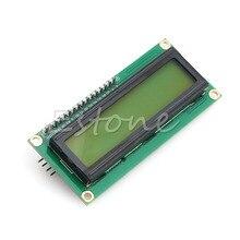 OOTDTY IIC I2C TWI SPI Интерфейс 1602 Серийный Символьный ЖК Дисплей Модуля Желто-Зеленый