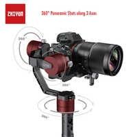 ZHIYUN Crane V2, 3-Axis Gimbal Stabilizer for Mirrorless Camera and DSLR for Sony A7 Panasonic LUMIX Nikon J Canon PK Hohemn