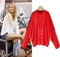 Kesebi 2017 Spring Summer New Hot Fashion Women European Off-the-shoulder Sexy T-shirts Female Batwing Sleeve Tops