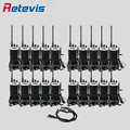 20 pcs Retevis RT7 Walkie Talkie Radio+Program Cable 5W 16CH UHF 400-470MHz FM Radio Scan CTCSS/DCS Handheld Hf Transceiver RU