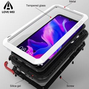 Image 2 - Love Mei Métal étui pour Huawei P30 Pro Housse De Téléphone Antichoc Pour Huawei P30 Lite Robuste Anti Chute étui pour Huawei P30 Pro