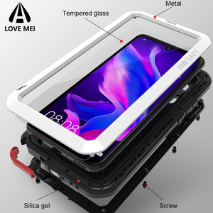 Image 2 - Love Mei Metal Case For Huawei P30 Pro Shockproof Phone Cover For Huawei P30 Lite Rugged Armor Anti Fall Case For Huawei P30 Pro