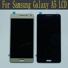 100% probado lcd de pantalla táctil para samsung galaxy a5 lcd pantalla para galaxy a5 a500 lcd