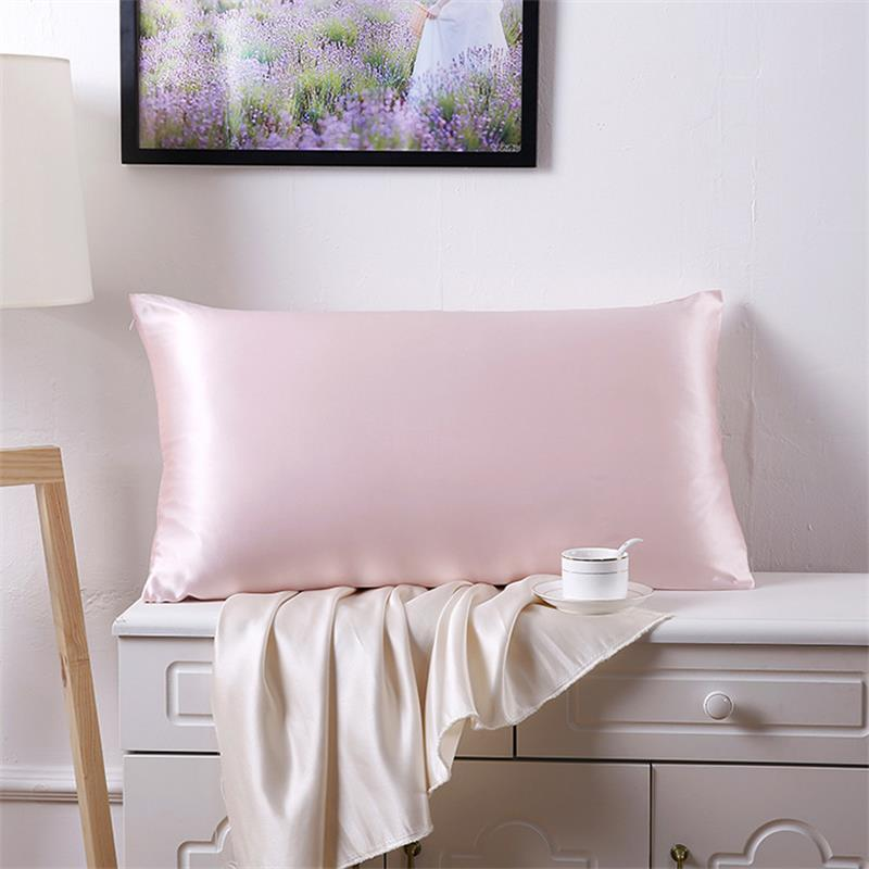 Terse 100 Pure Silk Solid Pillowcase Mulberry Silk Soft