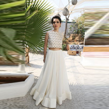 Exquisite Long Tulle Skirt A Line Floor Length Maxi Skirt Personalized Formal Style Ivory Tutu Skirts Women 2016 New Style