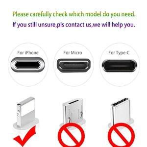 Image 5 - USAMS Cable de iluminación para iPhone 6S 6 7 8 plana 2A Cable de carga/sincronización para iPhone Cable de cargador de 2m Cable de carga de teléfono móvil