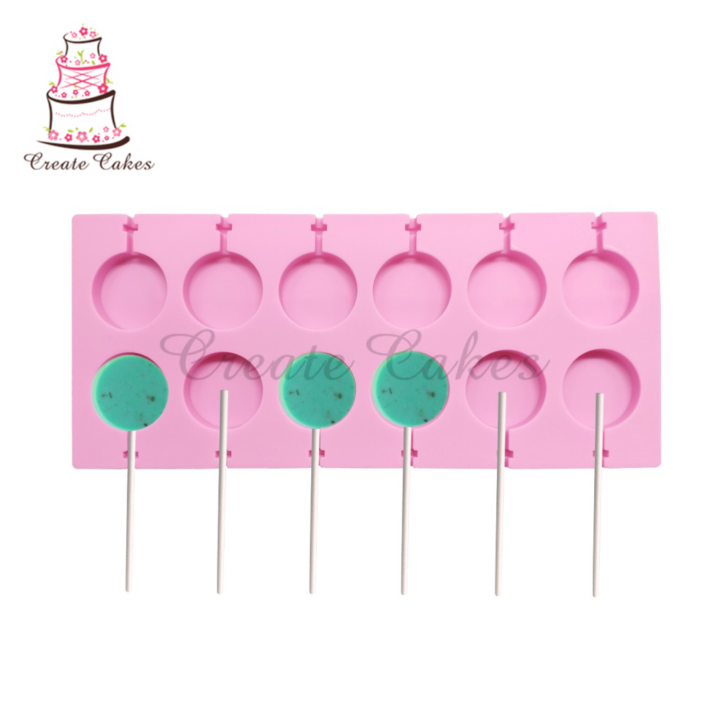 Flower Silicone Mold Lollipop Mold Cake Decorating Tools 3D Snack Tool For Same As Snack Party Kitchen Tools Bakeware