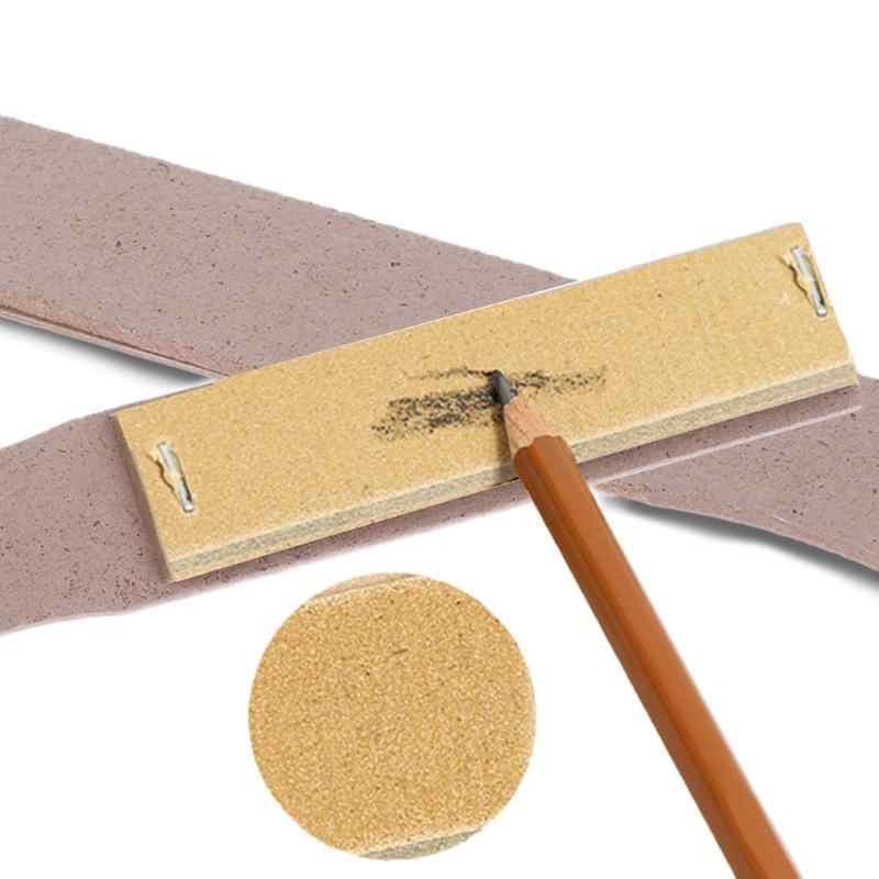 المهنية خشبية ورقة الصنفرة كتلة الفن رسم رسم قلم رصاص شحذ مؤشر أدوات وازم القرطاسية المدرسية