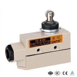 TZ-6102 tipo selado interruptor de limite de porta deslizante de alta temperatura do rolo de aço inoxidável