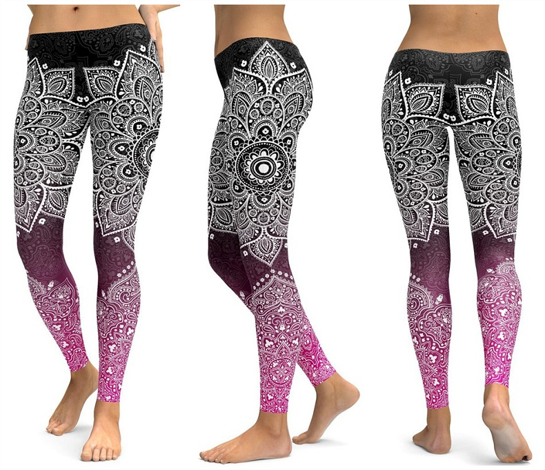 Yoga pants Women's leggings(6)