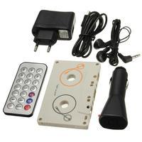 Portátil do vintage carro cassete sd mmc mp3 tape player adaptador kit com controle remoto estéreo leitor de áudio cassete|Reprodutor de cassetes automotivo| |  -