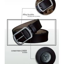 Men's Classic Split Leather Belt