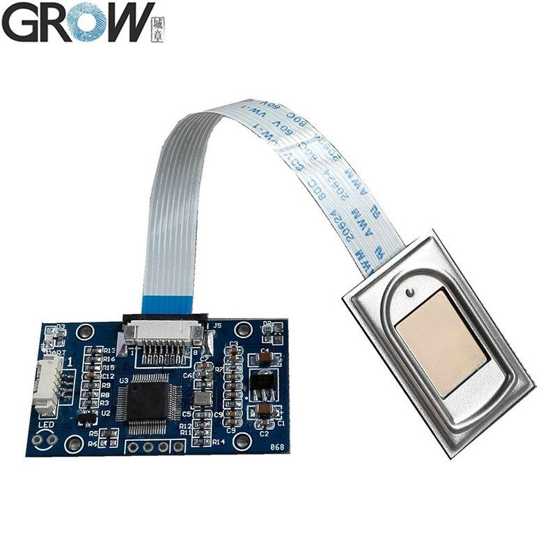 Устройство распознавания отпечатков пальцев GROW R303 USB, модуль датчика контроля доступа, сканер с бесплатным SDK