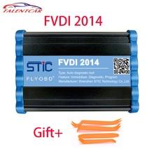 Самая низкая цена FVDI 2014 Профессиональный диагностический инструмент FVDI полная версия FVDI ABRITES командующий с 18 программного обеспечения FVDI OBD2 сканер