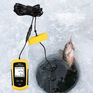 Image 5 - מזל דגים Finder עבור סירת דיג קרח Portable דיג אביזרי סונאר חיישן עומק מוצק Wired Fishfinder FF1108 1