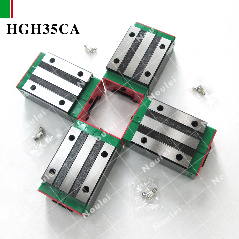HIWIN HGH35CA linear slide block for HGR35 guide rail High efficiency of CNC parts HGH35