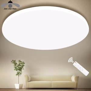 Lighting-Fixture Modern-Lamp Led-Ceiling-Lights Remote-Control Surface-Mount Bedroom