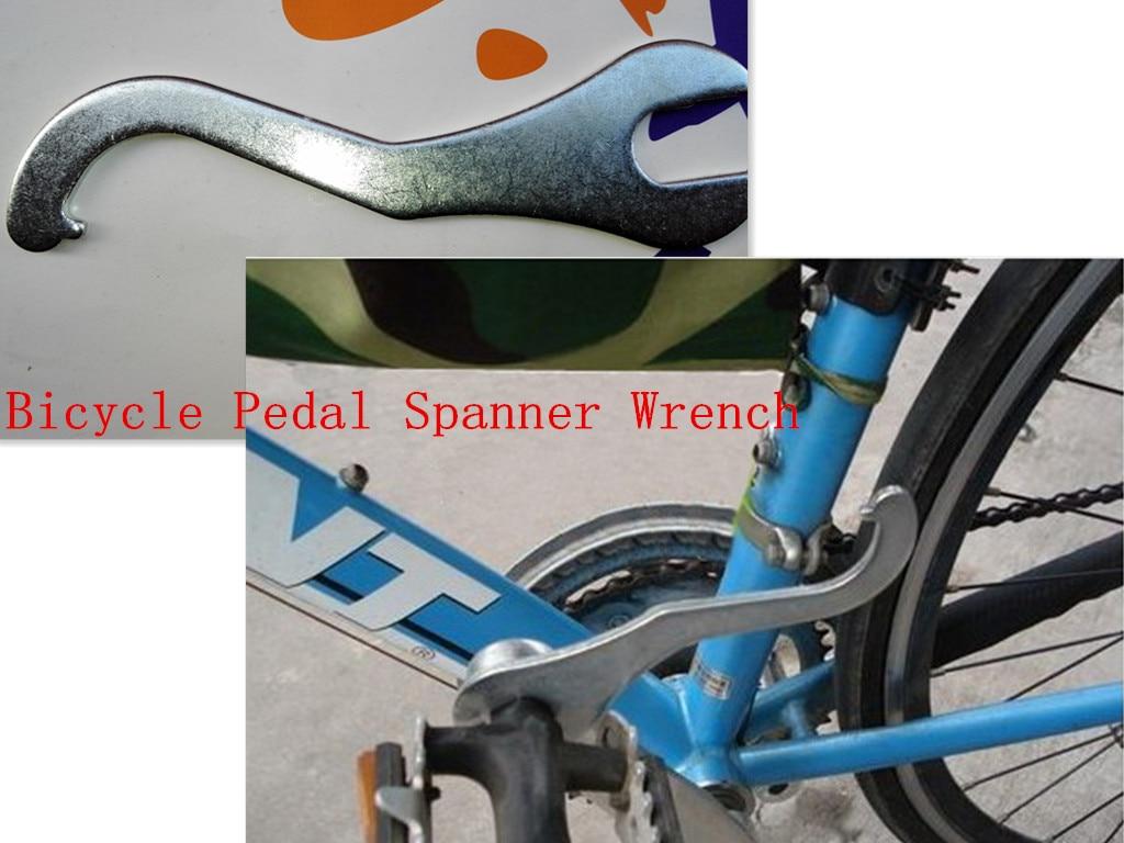Schraubenschlüssel Werkzeug Metall Fahrrad Fahrrad Pedale Bottom Sport 2 In 1 DE Fahrradreparatur & Werkzeug Werkzeug