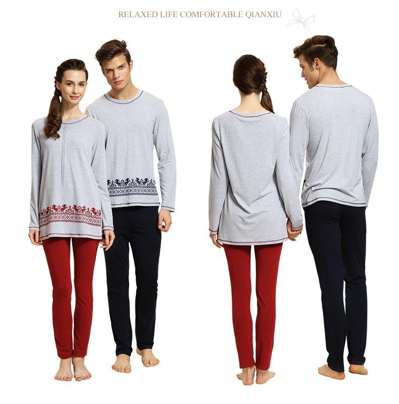 Brand High Quality Men Women Modal Soft Warm Print...