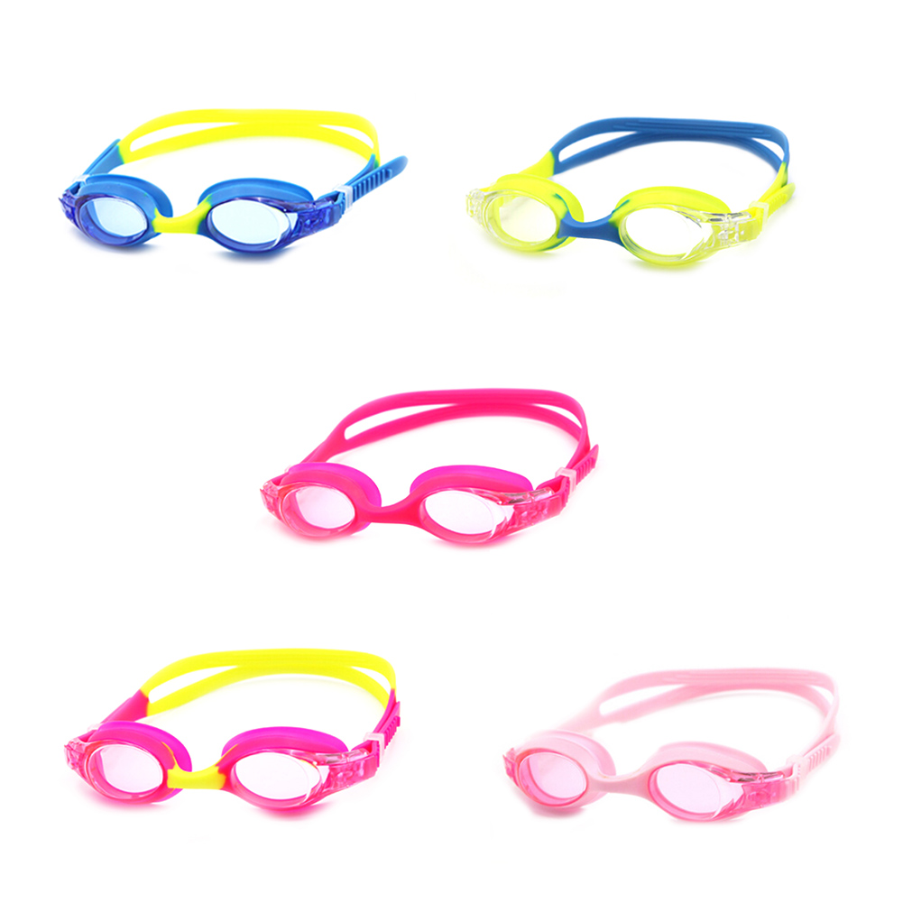 Children Kids Swim Pool Underwater Anti Fog Waterproof Silicone Diving Swimming Goggles Water Glasses Eyewear Cartoon