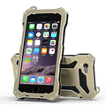 Luxury 5 5s SE Waterproof Shockproof Metal Aluminum Armor Hard Case For Apple iPhone 5s SE Waterproof Cover With Tempered Glass