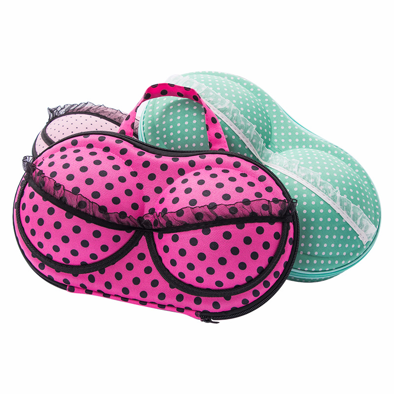 Women's Mesh Underwear Bra Storage Box Travel Portable Lingerie Organizer Wholesale Bulk Lots Accessories Supplies Product Gear