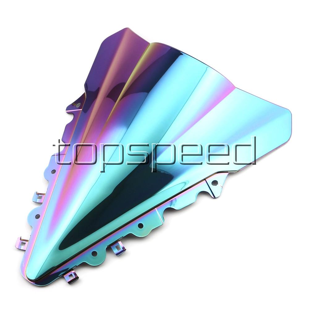 Motorcycle Windshield Windscreen For Yamaha YZF R15 2014 2015 2016 Iridium