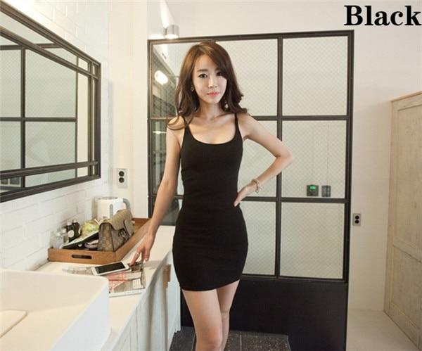 HTB14ah2GVXXXXbHXFXXq6xXFXXX2 - Fashion Women Sexy Backless Basic Dresses Sleeveless Slim Vestidos Vest Tanks Bodycon Dress Strap Solid Party Dress