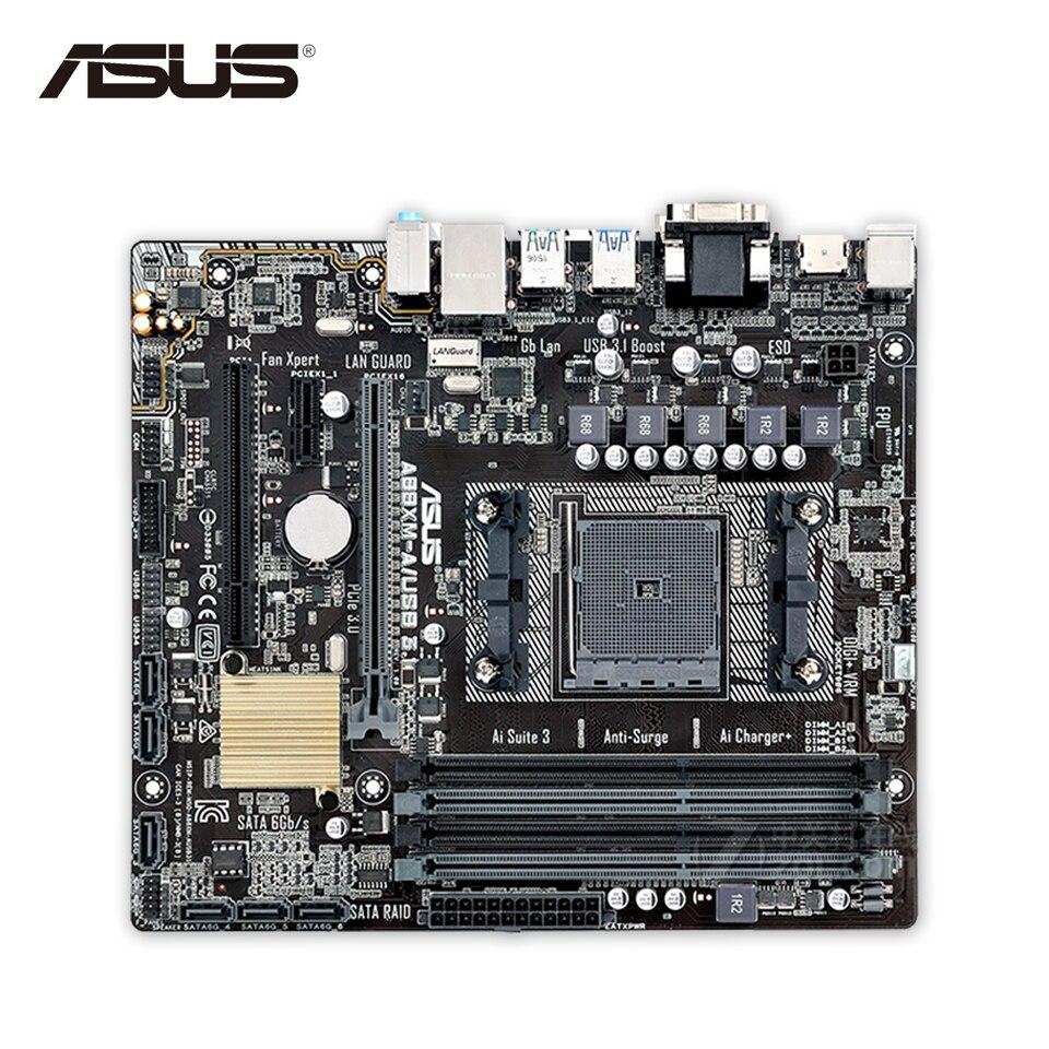 Asus a88xm a usb 3 1 original used desktop motherboard a88x socket fm2 ddr3 64g