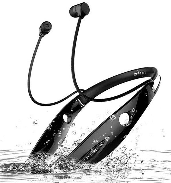 Zealot H1 Беспроводная Связь Bluetooth Наушники Наушники Спорт HIFI Водонепроницаемый Гарнитуры Стерео Каффи Поддержка APTX A2DP AVRCP HSP HFP