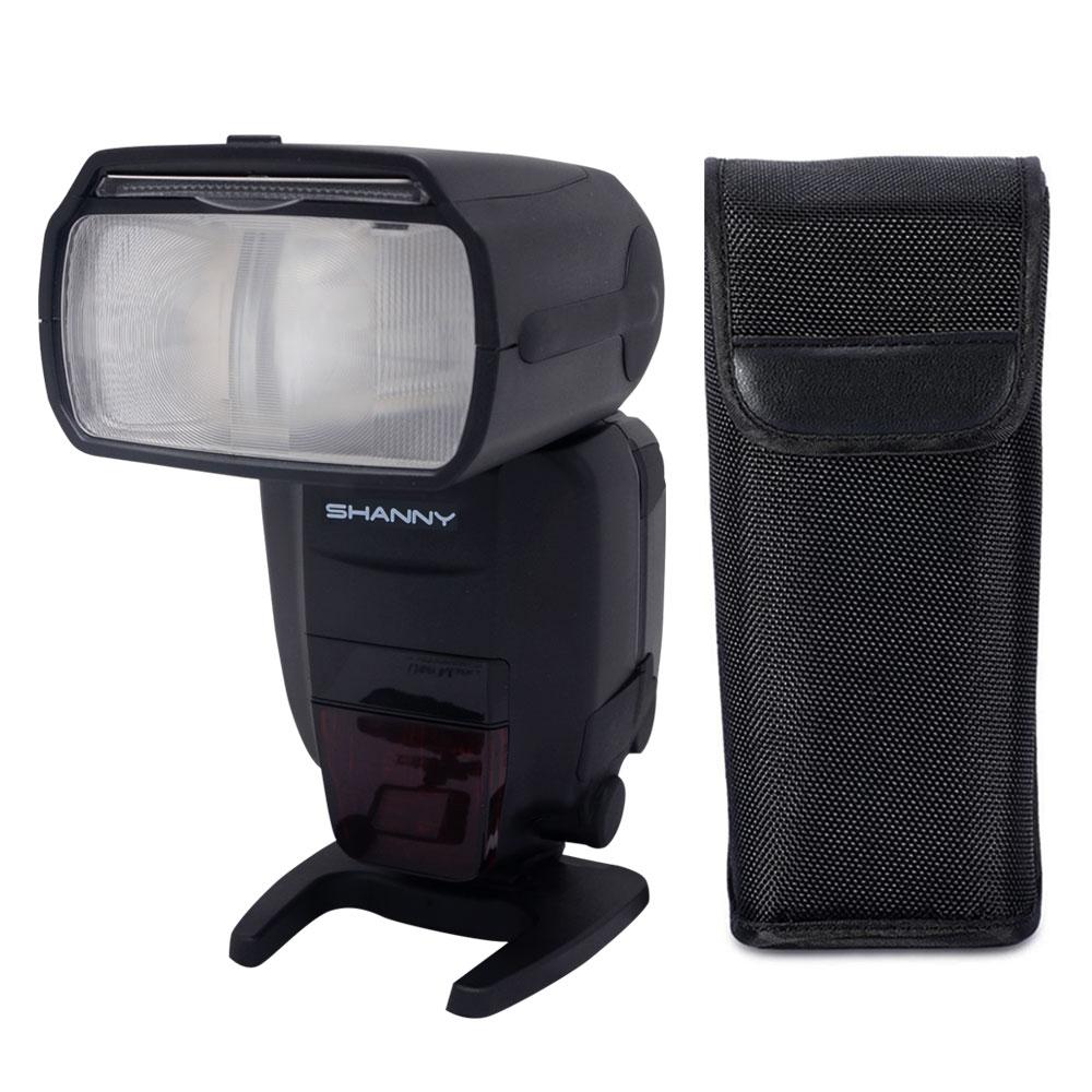 Shanny SN910EX-RF i-TTL GN60 1 / 8000s 2,4 GHz Funkübertragung Blitz - Kamera und Foto - Foto 3
