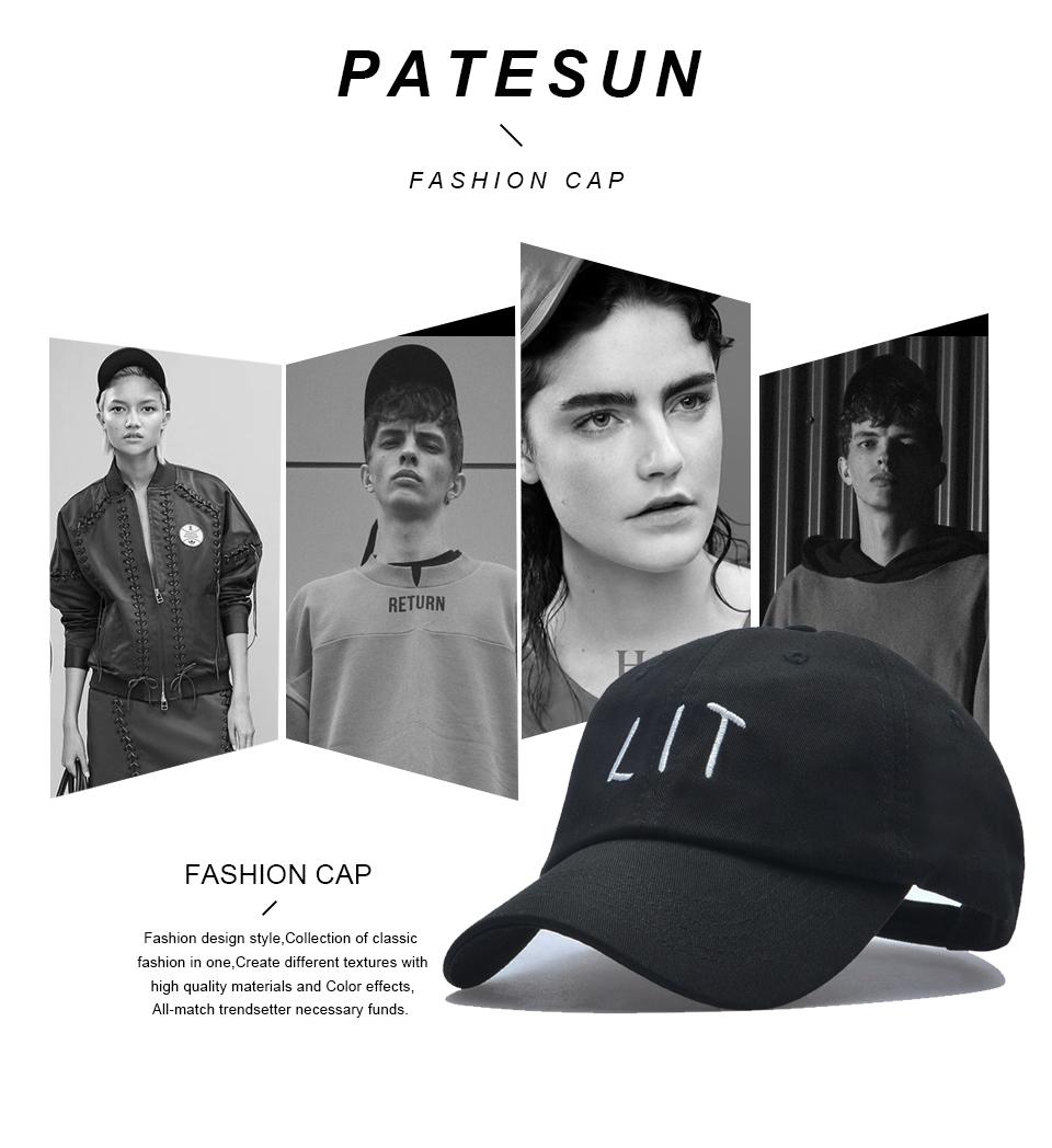 2a88333536b PATESUN 2017 Top Sale Snapback Hats women   men baseball cap ...
