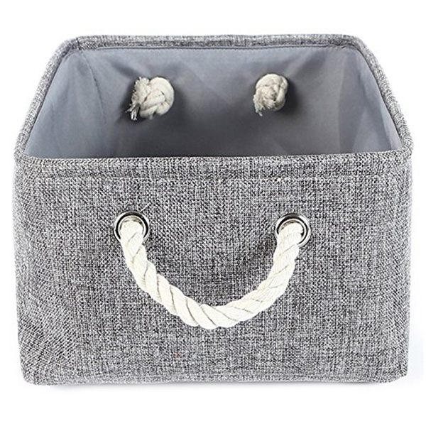 Aliexpress.com : Buy Storage Basket Canvas Storage Bins For Toy Storage,Grey  From Reliable Storage Baskets Suppliers On CHIM CHIM Store