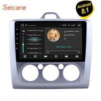 Seicane Android 8,1 четырехъядерный ПЗУ 16 ГБ Автомобильный gps навигатор Радио Блок плеер 9 дюймов для Ford Focus 2 Exi MT 2004 2005 2006 2011