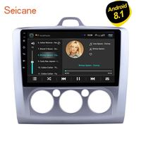 Seicane Android 8.1 Quad Core ROM 16GB Car GPS Navigation Radio Unit Player 9 inch For Ford Focus 2 Exi MT 2 3 MK2/MK3 2004 2011