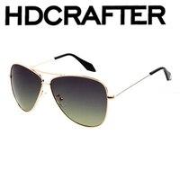 New Fashion High Quality Polarized Sunglasses Men Luxury Brand Designer UV400 Vintage Sun Glasses With
