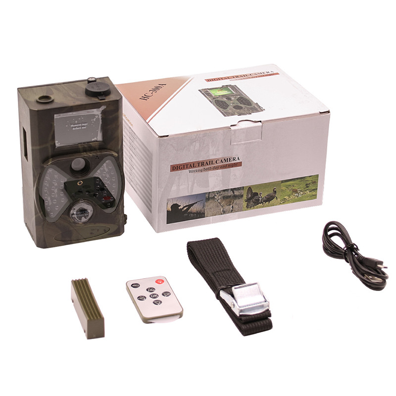 Caméra de chasse de base HC300A 12MP Vision nocturne 1080 P caméra vidéo de la faune caméras pour chasseur Photos piège Surveillance - 5